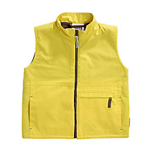 Buy Brownies Uniform Gilet, Yellow Online at johnlewis.com