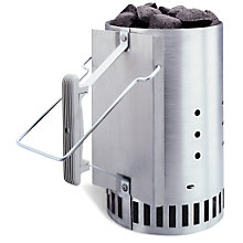 Buy Weber® Rapidfire® Chimney Starter Online at johnlewis.com