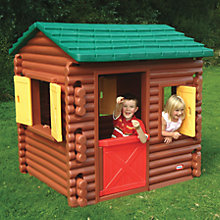 Buy Little Tikes Log Cabin Online at johnlewis.com