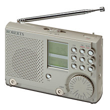 Buy ROBERTS R9968 PLL World Clock Radio Online at johnlewis.com