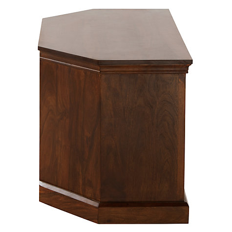 "Buy John Lewis Maharani Corner TV Stand for TVs up to 32"" Online at johnlewis.com"