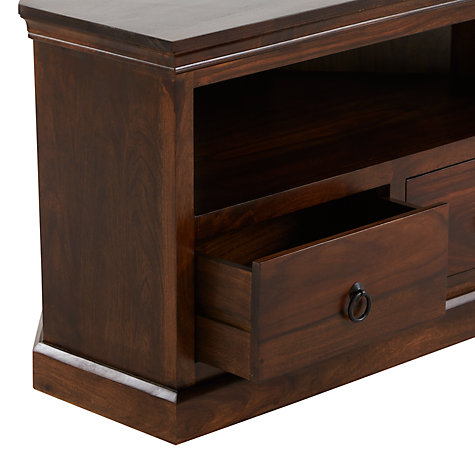 "Buy John Lewis Maharani Corner TV Unit for up to 32"" TVs Online at johnlewis.com"