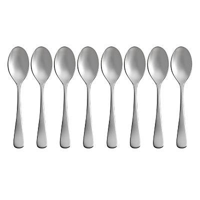 Robert Welch Radford Bright Coffee Spoons, Set of 8