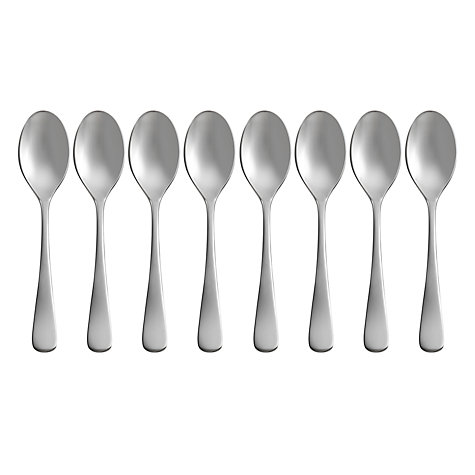 Buy Robert Welch Radford Bright Coffee Spoons, Set of 8 Online at johnlewis.com