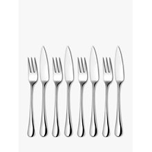 Buy Robert Welch Radford Bright Fish Eaters Forks and Knives, Set of 8 Online at johnlewis.com