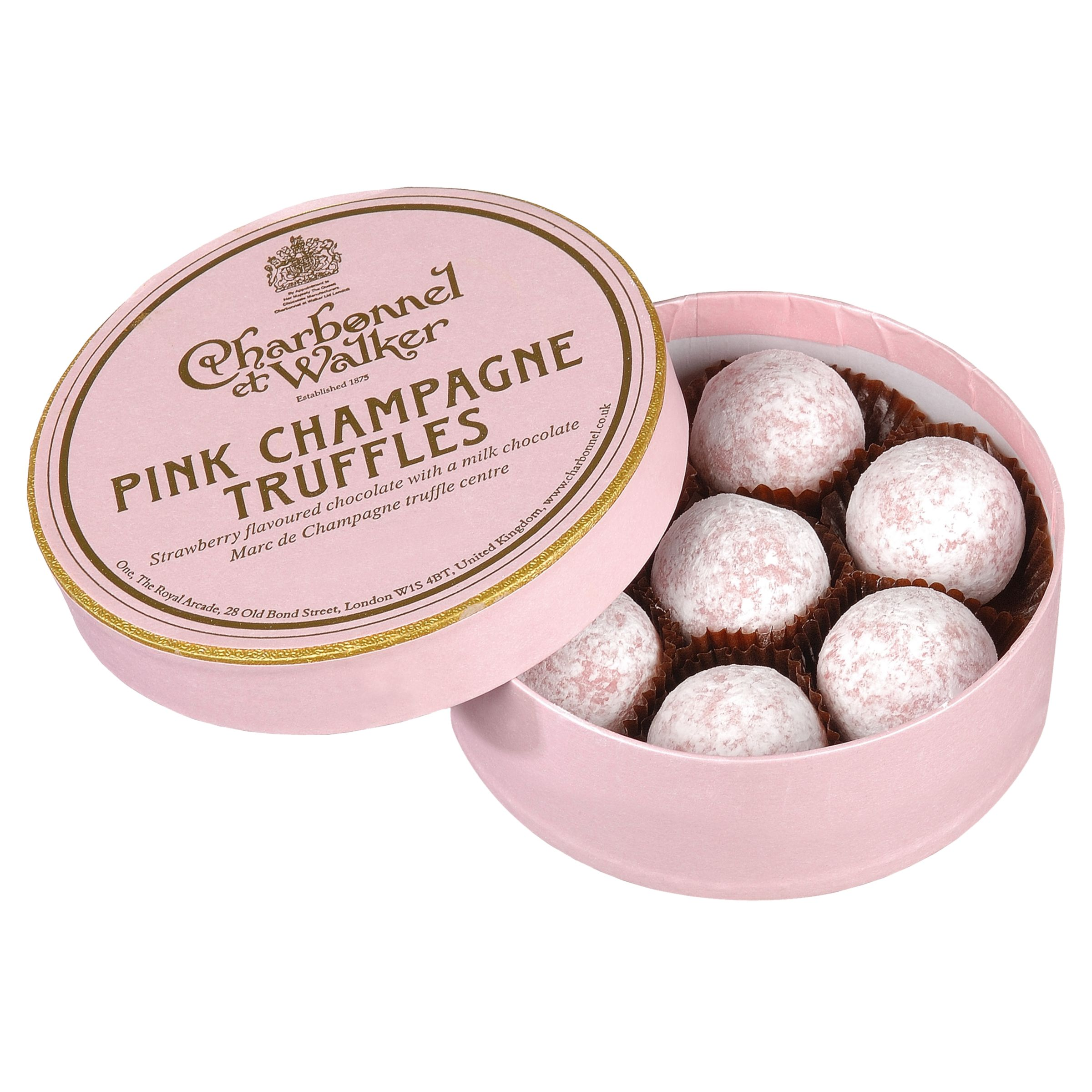 Pink Champagne Truffles,