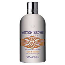 Buy Molton Brown Wild-Indigo Bath and Shower Gel, 300ml Online at johnlewis.com