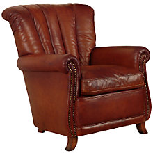 Buy John Lewis Ella Leather Armchair Online at johnlewis.com