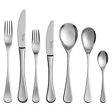 Buy Robert Welch RW2 Satin Cutlery Set, 60 Piece Online at johnlewis.com