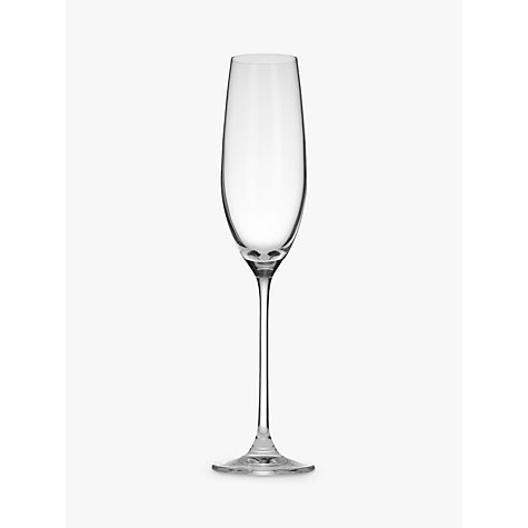 Buy John Lewis Vino Champagne Flutes, Set of 4 Online at johnlewis.com