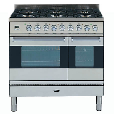 SI-9T6-L-S Dual Fuel Range Cooker,