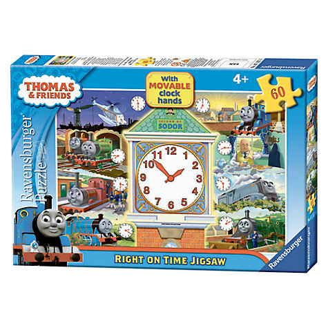 Buy Ravensburger Thomas & Friends Tell the Time Jigsaw Puzzle, 60 Pieces Online at johnlewis.com