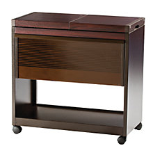 Buy Hostess Trolley, HL6200DB, Mahogany Online at johnlewis.com