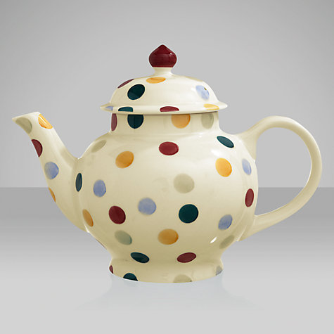 Buy Emma Bridgewater Polka Dots Teapot, 1.4L Online at johnlewis.com