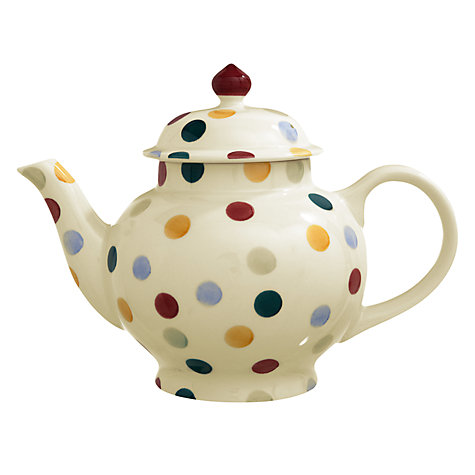 Buy Emma Bridgewater Polka Dot Teapot, 1.4L Online at johnlewis.com