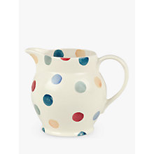 Buy Emma Bridgewater Polka Dots, Jug, 0.3L Online at johnlewis.com