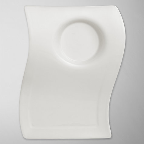 Buy Villeroy & Boch New Wave Party Plate, 22cm Online at johnlewis.com