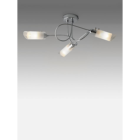 Buy John Lewis Limbo Ceiling Light, Chrome, 3 Arm Online at johnlewis.com