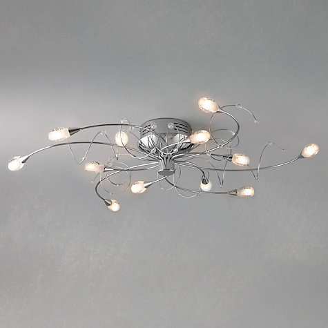 Buy John Lewis Joue Ceiling Light, 12 Arm Online at johnlewis.com