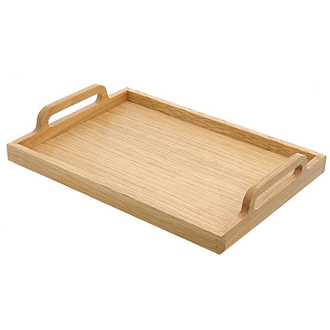 Buy Framed Oak Tray, Medium Online at johnlewis.com