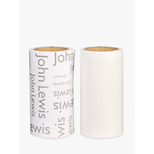 Buy John Lewis Lint Roller Refill, Pack of 2 Online at johnlewis.com