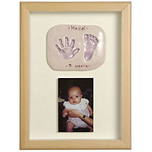 Buy Imprints Gift Certificate, Double Print and Photo, Natural Pine or Whitewashed Frame Online at johnlewis.com
