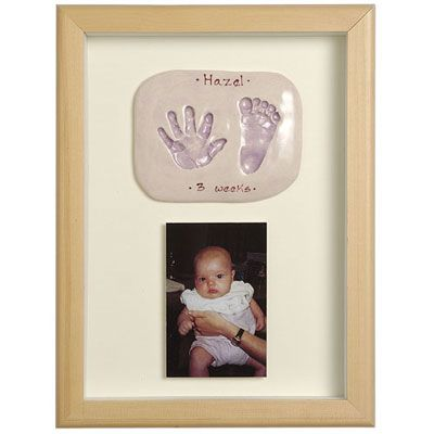 Imprints Gift Certificate, Double Print And Photo, Natural Pine Or Whitewashed Frame