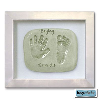 Imprints Gift Certificate, Double Print, Silver Finish Frame