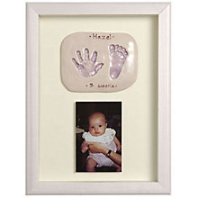 Buy Imprints Gift Certificate, Double Print and Photo, Silver Finish Frame Online at johnlewis.com