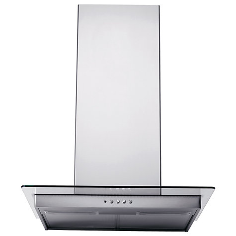 Buy John Lewis JLBIHD603 Chimney Cooker Hood, Stainless Steel Online at johnlewis.com
