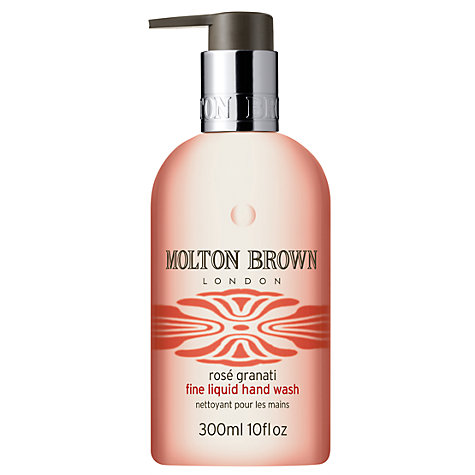 Buy Molton Brown Rosé Granati Hand Wash, 300ml Online at johnlewis.com
