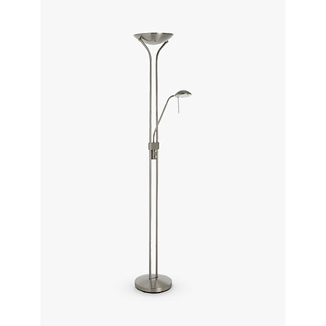 Buy John Lewis Zella Floor Lamp, Antique Brass Online at johnlewis.com