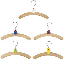 Buy Animal Hangers, Pack of 5 Online at johnlewis.com