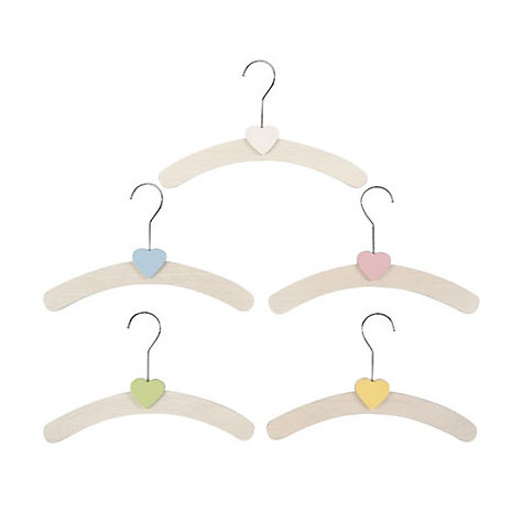 Buy Children's Hangers, Pack of 5 Online at johnlewis.com