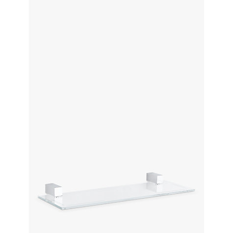 Buy John Lewis Ice Bathroom Shelf Online at johnlewis.com