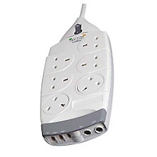 Buy Belkin F9S623 6-Socket SurgeMaster Online at johnlewis.com