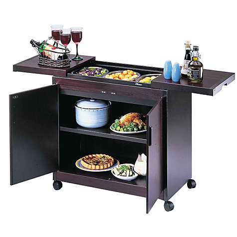 Buy Hostess Trolley, HL6232, Mahogany Online at johnlewis.com
