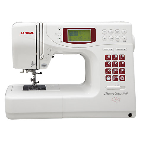 Buy Janome Memory Craft 4900QC Sewing Machine Online at johnlewis.com