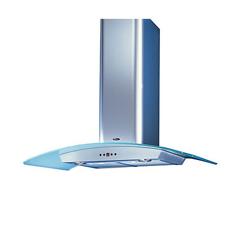Buy Britannia K7388ASC-100-S Chimney Cooker Hood, Stainless Steel Online at johnlewis.com