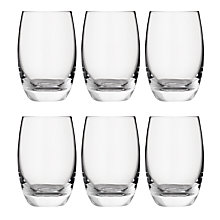 Buy John Lewis Barrel Highballs, Set of 6 Online at johnlewis.com