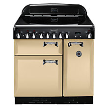 Buy Rangemaster Elan 90 Electric Range Cooker, Cream Online at johnlewis.com