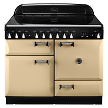 Buy Rangemaster Elan 110 Electric Range Cooker, Cream Online at johnlewis.com