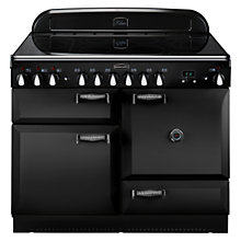 Buy Rangemaster Elan 110 Electric Range Cooker, Black Online at johnlewis.com