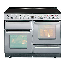 Buy Rangemaster Toledo 110 Electric Range Cooker, Silver Online at johnlewis.com