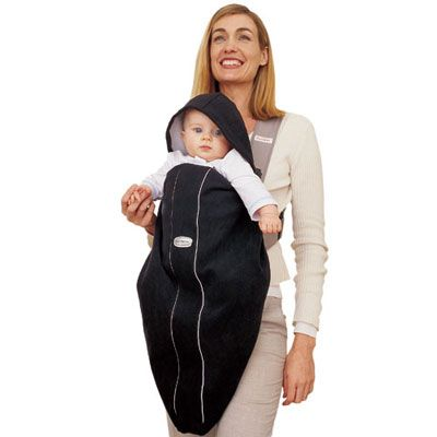 BabyBjorn BabyBjörn Cover for Baby Carrier, City Black