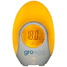 Buy Grobag Egg Thermometer and Night Light Online at johnlewis.com