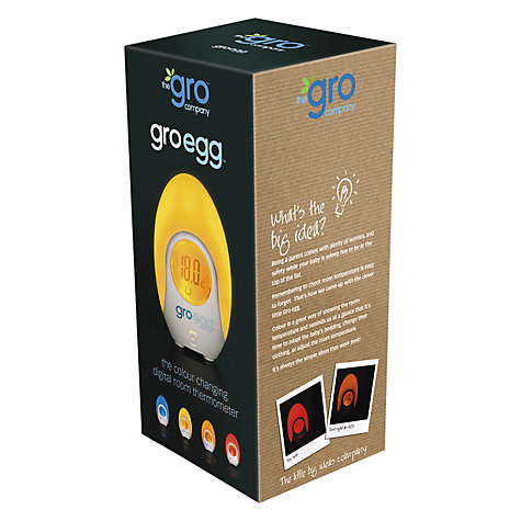 Buy Grobag Egg Baby Thermometer and Night Light Online at johnlewis.com