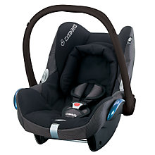 Buy Maxi-Cosi CabrioFix Infant Carrier, Black Reflection Online at johnlewis.com