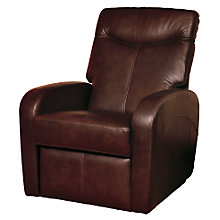 Buy John Lewis East River Reclining Leather Armchair Online at johnlewis.com