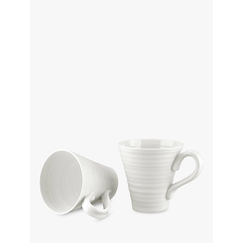 Buy Sophie Conran for Portmeirion Mugs, White, Box of 2 Online at johnlewis.com